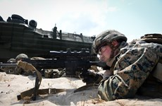 """新冠肺炎疫情:第39次""""金色眼镜蛇""""联合军演将在采取防控措施的情况下举行"""