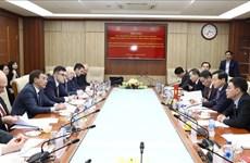 越南与俄罗斯推动反腐败合作再上新台阶
