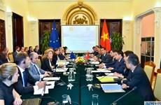 越南-欧盟政治事务小组第一次会议新闻公报