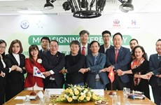 越南企业和韩国企业促进绿色技术发展合作