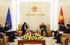 越南与欧盟深化防务合作