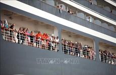 新冠肺炎疫情:豪华邮轮威士特丹号全部乘客20日离开柬埔寨