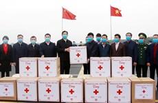 新冠肺炎疫情:广宁省向中国广西赠送防疫物资