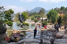 林同省大叻雕刻地道就泰国游客与越南游客发生摩擦一事道歉