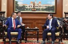 哈萨克斯坦对胡志明市营商环境感到满意