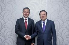 新加坡希望同越南加强多方面的合作关系
