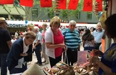越南参加在堪培拉举行的澳大利亚多元文化节