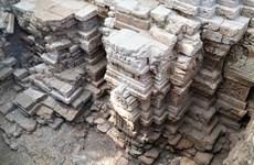 西宁省发现千年古塔遗址