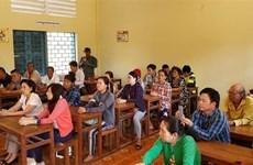 为有意加入柬埔寨国籍的旅柬越南人举办培训班