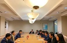 越南驻美大使馆努力促进双边贸易、投资和旅游合作