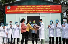 新冠肺炎疫情:越南最后一例新冠肺炎确诊病例治愈出院