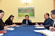 新冠肺炎疫情:越南政府副总理兼外长范平明与韩国外长康京和进行电话会谈