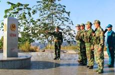 越老柬三国界碑:互信与团结建设和平、友好边界线的象征