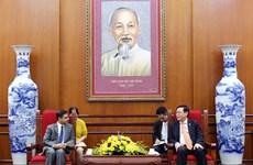 越南河内与印度各地方加强合作关系