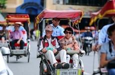 越南接待国际游客人数创近4年来新低