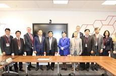 越南计划与投资部部长阮志勇率团访问英国和印度