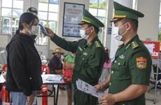 奠边省边防部队全力以赴 把好边境防控第一关