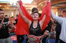 越南首名女拳手获得WBO亚太区腰带