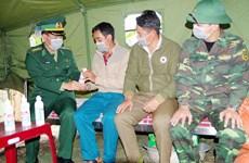 奋战在新冠肺炎防控一线的越南边防部队:加大关于新冠肺炎疫情防控工作的宣传力度(第二期)