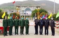 奋战在新冠肺炎防控一线的越南边防部队:边境地区的情义口罩(第三期)