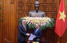 越南政府总理阮春福会见美国-东盟商务理事会企业代表团