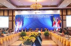 东盟协调委员会工作小组第九次会议在岘港举行
