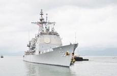 越南外交部发言人就美国海军军舰队访问岘港回答记者问