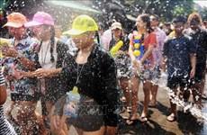 受新冠肺炎疫情影响泰国各地取消泼水节活动