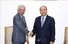 越南政府总理阮春福会见联合国常驻越南协调员马特拉