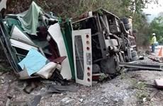 老挝客车侧翻事故:2名越南人遇难  其他4人受伤