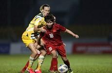 2020年东京奥运会:越南女足奋战澳大利亚女足