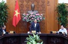 阮春福总理就一些交通项目主持召开政府常务会议