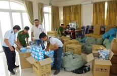 越南各地连续破获多起非法跨境运输医用口罩案件