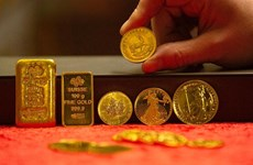 3月16日越南国内黄金价格接近4700万越盾