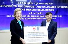 联合国开发计划署援助越南九龙江三角洲有效应对干旱和海水入侵