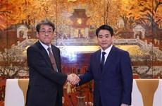 进一步加强河内市与日本各地方的合作