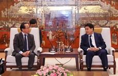 河内市与日本国际协力机构联合加快合作项目的进度