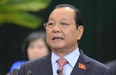 党建:越共中央政治局、中央书记处给予2010-2015年任期胡志明市市委常委会谴责处分