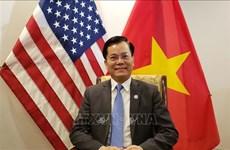 美国政府没有暂时停进口越南纺织品服装的主张