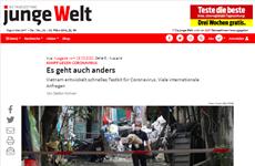 新冠肺炎疫情:德国媒体歌颂越南主动采取强有力措施应对疫情