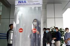 新冠肺炎疫情:内排机场技术服务中心成功研制人员消毒通道