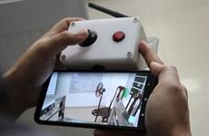 新冠肺炎疫情:岘港市百科大学成功研发出防疫机器人