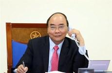 越南政府总理阮春福与捷克总理安德烈·巴比什就新冠肺炎疫情防控合作举行电话会谈
