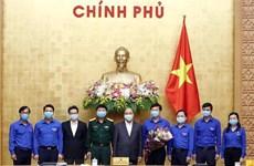 阮春福总理:大力调动青年团员参与新冠肺炎防控工作力度