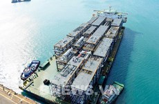越南斗山重工业有限公司出色完成韩国三星工程建设公司生产的27个组件模块订单