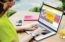 在线购物出现爆发式增长