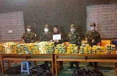 越南警方破获一起特大跨境毒品案  缴获合成毒品近450公斤