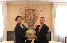 日本福岛县感谢越南为灾后重建提供支持