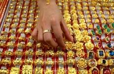 越南国内黄金价格达4800万越盾左右
