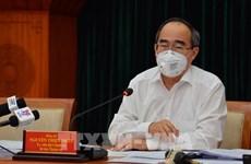 胡志明市市委书记阮善仁:集中遏制疫情传播 确保医疗卫生系统的安全